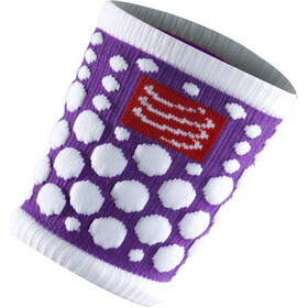 Compressport 3D Dots Sweatband Fluo Purple